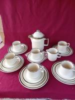 416 6 személyes Doverstone Staffordshire teás  készlet