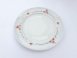 Alföldi retro porcelán tányér - lapostányér csipkebogyó mintával