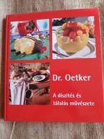 Dr. Oetker  A díszítés és a tálalás művészete