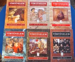 Herber-Martos-Moss-Tisza: TÖRTÉNELEM I-VI (teljes sorozat, Reáltanoda 1993-1997)