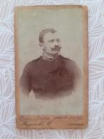 Antik katona fotó Rupprecht Mihály Sopron műtermi fénykép