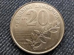 Görögország Dionysios Solomos 20 drachma 2000 (id33879)