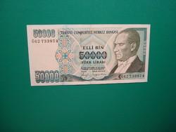 Törökország 50000 Líra 1970 Extraszép!Ritkább!