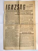 Igazság  1956. November 3.