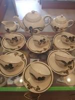 Zsolnay nyár mitás teás készlet új. !!!