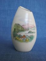 Aquincumi porcelán váza Dunakanyar Nógrádverőce