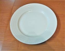Fehér porcelán zsolnai tál 30 cm -es