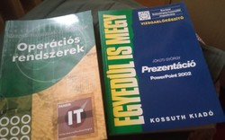 2 db retro ECDL vizsgára felkészitő könyv(Neumann János Számitógéptudományi Társaság ajánlásával)