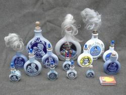 Tubák, burnót tartó vagy flaska gyűjtemény.