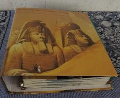 Titokzatos Egyiptom - kapcsos könyv