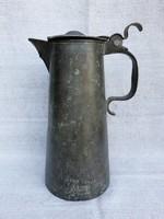 18.századi Nagy Ón Kupa Javított.30cm.1803.