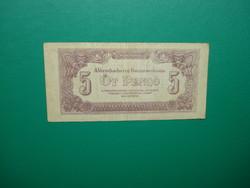 5 pengő 1944