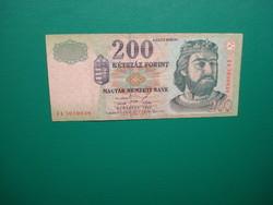 Ropogós 200 forint 1998 FA