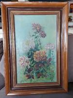 Mádi szignós festmény 70x50