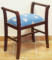Szecessziós ülőke , felújítva
