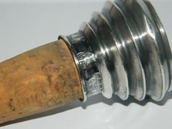 Antik 835 ezüst dugó parafával