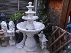 AKCIÓ 265 000Ft  helyett Minőségi Igényes Fagyálló Kő Szép Nagy Szökőkút 150cm szobor