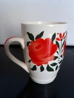 Gyönyörű antik Gránit rózsás bögre