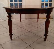 Ovális  étkezőasztal, ebédlőasztal, étkező asztal, ebédlő asztal 200cmx100cm