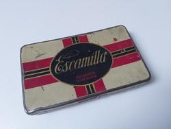 Régi német cigarettás fém doboz