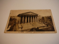 Paris 1937 - forgalom a Madeleine templomnál