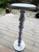 Fa posztamens ,szobortartó, virágtartó 49 cm