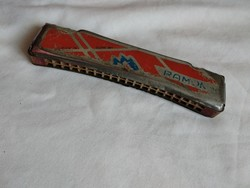 Vintage Ramona Germany harmonika, szép hangú német szájharmonika