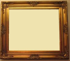 Barokk stilus blondel képkeret gyönyörű-újszerű hibátlan!!!