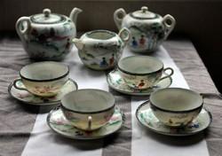 Gesa - Japan-kezzel festett Teas keszlet