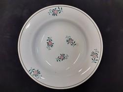 Népi fali tányér, wilhelmsburgi keménycserép tányér