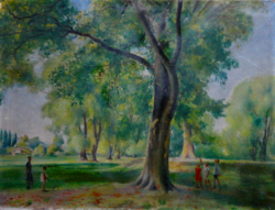 Pólya Iván eredeti festménye