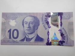 Kanada 10 dollár 2014  UNC  Polymer