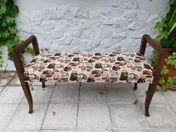 Kárpitos pad, - ágyelő - szófa - kanapé