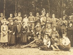 Régi fotó katona fénykép csoportkép katonák
