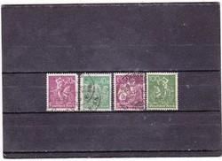 Német Birodalom forgalmi bélyegek 1921-1923
