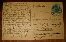 1914 régi képeslap katonai pecsétesnek gondolom  pecsételt futott KIÁRUSÍTÁS 1 ft