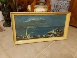 Gádor Emil meseszép olaj festmény!
