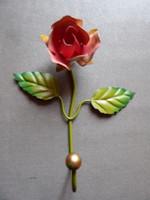 Rózsás fém fogas