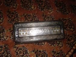 1940-es évek, régi német harmonika , Olympia antik hangszer mouth harmony, antique harmonica