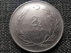 Törökország 2 1/2 Líra 1964 (id37567)