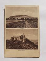 Régi képeslap 1931 Somlóhegy Bakacs várrom