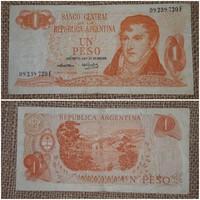 Argentin 1 peso papírpénz