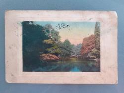 Régi tájképes képeslap 1913