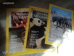 ÚJSÁG National Geographic 3 db újság egyben 1970, 1972, 1984