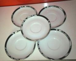 Alföldi  art deco porcelán alátét tányér, hibátlan és nagyon szép