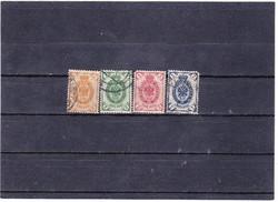 Oroszország forgalmi bélyegek 1902