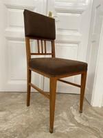 Szecessziós szék íróasztalhoz
