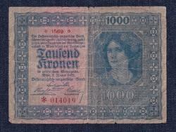 Ausztria 1000 Korona bankjegy 1922 (id11735)
