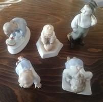 Zsolnay figurák