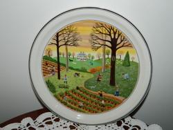 """Villeroy & Boch fali tányér """"Ősz"""""""